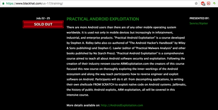 Practical Android Exploitation